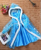 ballet apparel - New Girls Elsa Princess Dress Children s Clothing Apparel Accessories Girls Snow Christmas Dress