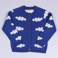 baby horse jumper - 1 Y Baby Costume BOBO Choses Knitted Sweaters Cloud Horse Triangle Pattern Jumper For Boys Girls Baby Fall Sweaters Clothing