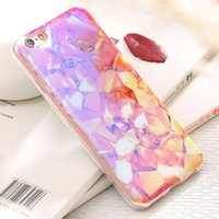 apple artist - Case For iPhone S For iPhone Plus S Plus Luxury Glitter Blue Light Back Cover Colorful Artist Diamond Skins Phone Bag