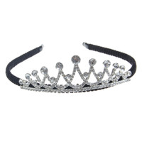 Wholesale 2016 new style rhinestone metal bling tiaras headband imperial crown hairband eight options drop shipping hight quality lady hair accessory