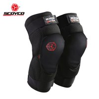 adjustable motorcycle shocks - Ventilation Adjustable Motorcycle Riding Knee Pads Anti Collsion Crashproof Breathable Cloth Shock Absorption PU Unisex Knee Supports