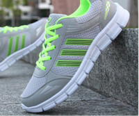 Wholesale Details about New Fashion Men s Running Breathable Shoes Sports Casual Athletic Sneakers Shoes Light gray