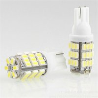 auto cool led indicator - 42SMD T10 V LED Car Light Replacement Bulbs W5W T10 Wedge Auto Indicator Lighting Lamp W