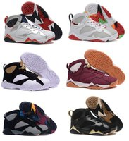 Cheap Retro China Jordan 7 men basketball shoes online cheapest sale authentic best quality sneakers US size 8-13 free shipping