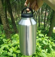big kidney - 64oz bilayer stainless steel insulation Cup YETI mugs cars beer mug cup water Sports Big Capacity tundra coolers