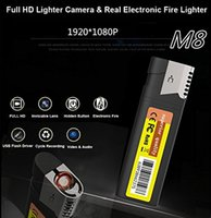 Wholesale Multi function HD P Real Electronic Fire Lighter Hidden Camera Spy Lighter Camera Without Lens Hole Video Recorder Mini Hidden DVR