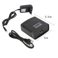 Wholesale Top Quality USB LRP Print Server Share LAN Networking Printer Ethernet Hub Adapter