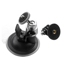 Wholesale Accessories For Gopro Hero Car Suction Cup with Tripod Adapter Mount Window Glass For Go Pro SJ4000 Xiaomi yi Action Camera