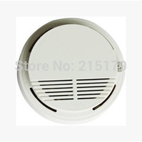 Cheap Smoke Detector Fire Sensor Alarm Alert Home Security System The wired 12V network smoke detector smoke alarm