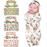 baby rabbit bottles - Boys Girls Baby Childrens Clothing Sets Baby Blankets Swaddling Rabbit Ears Headbands Set Baby Photography Props Newborn Robes Piece Set