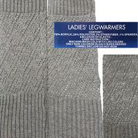 Wholesale Women With Lurex Strick Stiefelstulpen Beinstulpen Legwarmers Stulpen Beinwärmer Legging