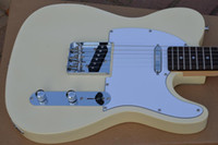Wholesale Deluxe Telecaster guitar Custom shop White Blonde high quality complete tl electric guitar