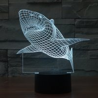 bank desk lamp - Shark D Touch Control Night Colors Change USB LED Desk Table Light Lamp Power Bank Abajur Night Light
