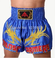 Wholesale Boxing shorts MMA Satin Competition Training challenge Pants Muay Thai Trunks
