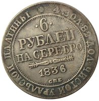 Wholesale Russia Platinum copy coins copper silver plated Art collection gifts Retro coins