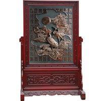 ancient china wall - Chinese Ancient Culture And Art Wall Chinese Precious Mahogany Guan Gong Vertical Wall Paintings And Other Image Pattern