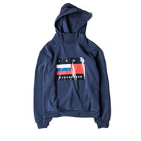 Wholesale Gosha Rubchinskiy Hoodie Men High Quality Gosha Flag Cotton Sweatshirts Pullover Noah Gosha Rubchinskiy Hoodies