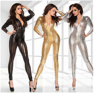 latex lingerie - sexy Lingerie Sexy Body Suits for Women PVC Erotic Leotard Costumes Latex Bodysuit Catsuit women leather dresses plus size M L XL XXL