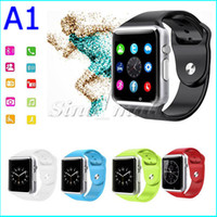 Wholesale A1 Smart Watch Bluetooth Wearable Outdoor Sports iWatch Style For Android IOS Phone Support SIM TF Card VS GTO8 DZ09