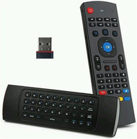 Wholesale MX3 G Mini PC Wireless QWERTY Keyboard in One Fly Air Mouse Remote Control for Android Smart TV BOX