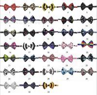 Wholesale Pet Dog Neck Tie Cat Dogs Bow Ties Dog Bow Tie Cat Tie Supplies Pet Headdress adjustable bow tie