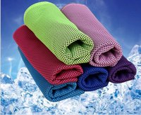 Wholesale Cold towel movement under the influence of water cooling cold towel A cold towel to wipe the sweat sports leisure towel CM