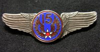 air force wings - United States Air Force Memorial wing badge fifteenth air force