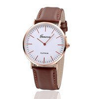 apparel gift tags - 2016 men s fashion apparel gifts design new watch circular dial quartz watch leather men s casual sports watch