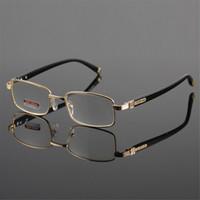 Wholesale Reading Glasses Eyeglasses Frames Women Eyewear Fashion Golden Presbyopia Hyperopia Long Distance Vision