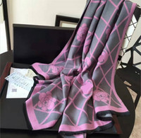 Wholesale 2016 Diagonal Stripes Women Autumn Winter Imitated Cashmere Brand Scarf Fashion Luxury Designer Scarves Thicken Warm Brand Cape