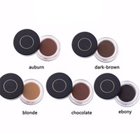 cream natural cream - 2016 New Ana Beverly Hills Waterproof Eye Brow Filler DIPBROW POMADE Hot Colors Eyebrow Gel With Retail Package