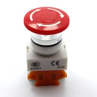 Wholesale Practical Push Button Power Switcher Mushroom Push Button Emergency Stop Switch