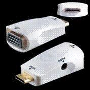 Wholesale Piece New HDMI Male to VGA RGB Female HDMI to VGA Video Converter adapter P