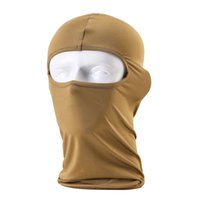 Wholesale Outdoor Protection Headwear_Lycra Balaclava Workout Cycling Ski Motorcycle Hunting Full Face Mask Paintball Airsoft Riding Prevent