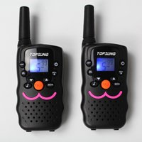 Wholesale 2PCS Handheld Walkie Talkie VT CH PMR FRS GMRS Way Radios Dual Channel Standby