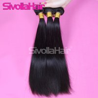cambodian hair - Brazilian Human Hair Extensions Human Brazilian Hair Bundles Unprocessed Peruvian Indian Malaysian Cambodian Straight Hair Weaves Free Ship