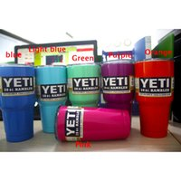 Wholesale hot selling oz oz oz colored YETI Rambler Colster Vacuum Insulated Tumbler Yeti Mugs