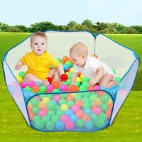 Wholesale cm Blue Kids Play Game House Tent Pool Children Tent Ball Pool Baby Toys Outdoor Indoor Fun Sports Lawn Tent