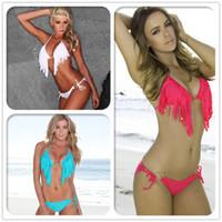 beauty element - new arrival beauty fashion Tassels Swimwear BIKINI swimsuit new high end fashion elements spot bikini A0044