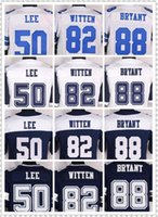Wholesale NIK Elite Football Stitched Cowboys Dez Bryant Jason Witten Sean Lee White Blue Thanksgiving Jerseys Mix Order
