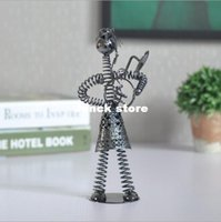 band staff - Simple Specials Home decoration spring music band Iron desk staff birthday gift crafts ornaments