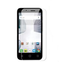 alcatel screen protector - For Alcatel Dawn Idol Stellar Tru Fierce XL Kyocera Reach Tempered Glass Screen Protector Clear Clarity H D Toughened Film