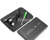 Wholesale USB inch Notebook Hard Drive SATA HDD SSD HD Enclosure External Case Box
