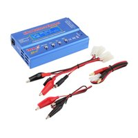 Wholesale In stock Set Newest iMAX B6 Lipo NiMh Li ion Ni Cd RC Battery Balance Digital Charger Discharger