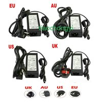 Wholesale AC100 V to DC V A W Power Adapter Supply Charger Lighting Transformers with AU US EU UK plug for LED Strip Light