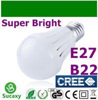 lamp saving lamp - Cheap Lightings Lamp Super Bright LED Bulbs B22 E27 Globe Light Bulb W W W W W V CREE LED Energy Saving Light