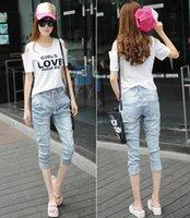 Wholesale Hot sale Korean Autumn Fall Women s pants Cotton Denim Jeans Fashion Denim pants Skinny Cotton Jeans For Women Pencil Pants