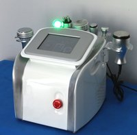 Wholesale Professional ultrasonic liposuction cavitation machine Photon LED ultrasonic radio frequency in1 beauty machine DHL