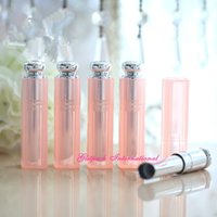 Wholesale 50pcs DIY Homemade Baby Pink Unique Lip Balm Container Lipstick Tube Packaging Manufacturer mm Lipstick Case