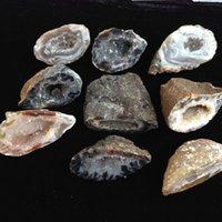 agate minerals - 9pc a Natural Agate Goede Stone Quartz Crystral Crafts Reiki Minerals